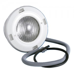 iluminación piscinas proyector