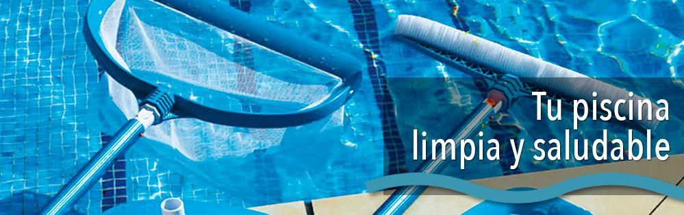 Limpieza de piscinas accesorios y complementos de limpieza for Productos de limpieza de piscinas