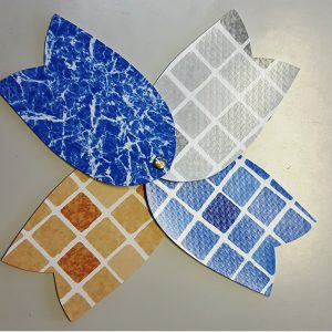 la lámina armada muestras elbe modelos mosaico