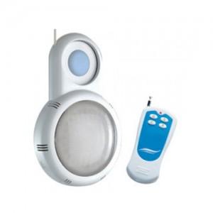 proyector piscina para boquilla con mando distancia