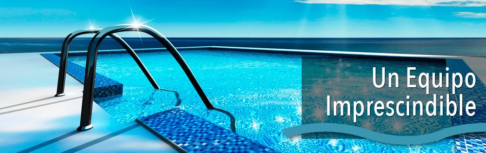 filtración del agua de las piscinas