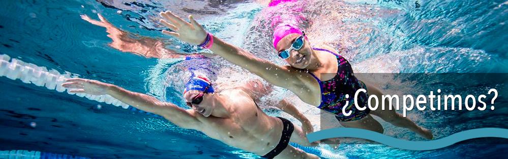 material de competición de piscinas