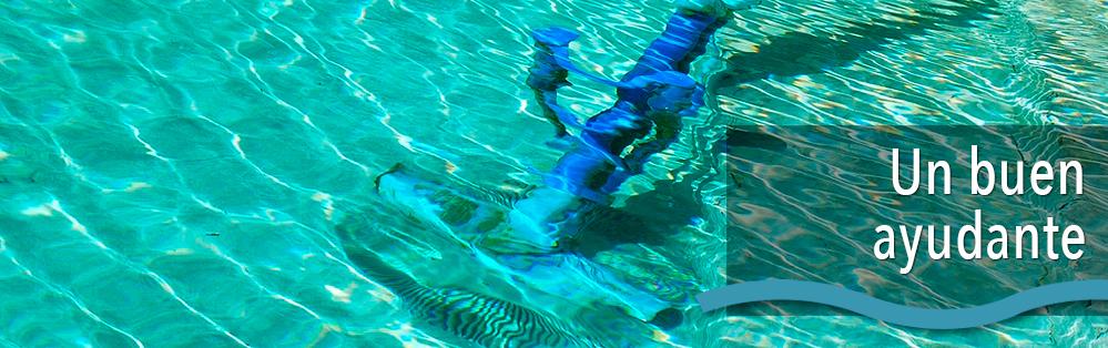 limpiadondos de aspiración para piscinas