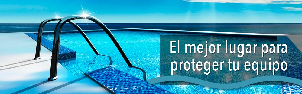 locales técnicos para equipos depuración de piscina