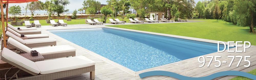 Piscina modelo deep 775 dise o rectangular y amplia for Limpiadores de piscinas