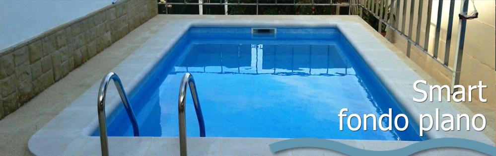 Piscina modelo smart fondo plano para espacios reducidos for Limpiadores de piscinas